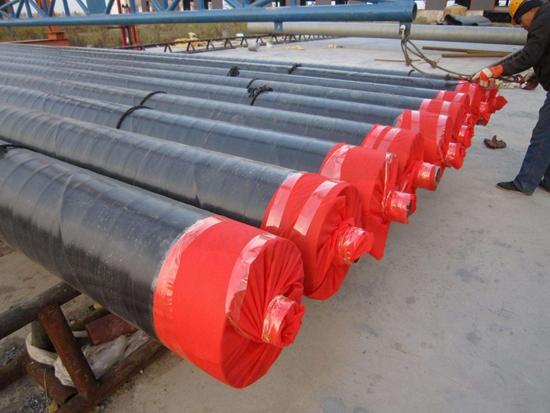 钢套钢蒸汽复合保温钢管